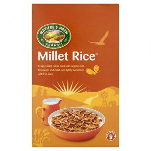 Δημητριακά Ολικής Άλεσης Βιολογικά Vegan Natures Path Millet Rice 375g