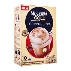 Στιγμιαίο Ρόφημα Καφέ Nescafe Gold Cappuccino 10x14g