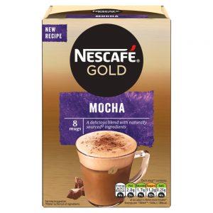 Στιγμιαίο Ρόφημα Καφέ Nescafe Gold Mocha 8x18g
