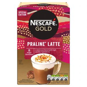 Στιγμιαίο Ρόφημα Καφέ Nescafe Gold Praline Latte 8x18g