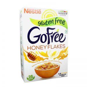 Δημητριακά Χωρίς Γλουτένη Nestle Go Free Honey Flakes 500g