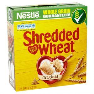 Δημητριακά Ολικής Άλεσης Nestle Shredded Wheat 270g