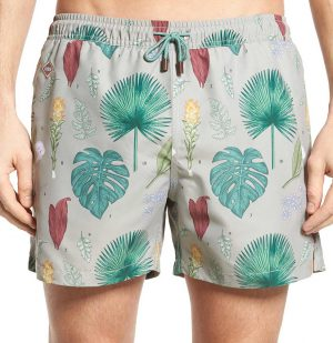 Μαγιό Flower Power Nikben Swim Shorts