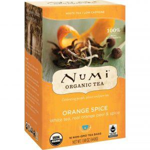 Τσάι Λευκό Numi Organic Tea Orange Spice 16 Tea Bags