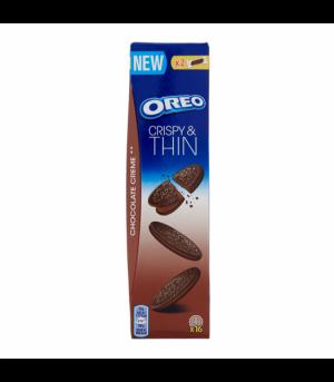 Oreo Μπισκότα Γεμιστά Crispy and Thin Chocolate Cream 96g