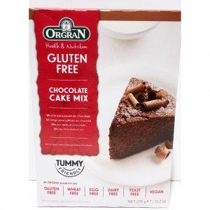 Μείγμα για Κέικ Σοκολάτας Vegan Orgran Chocolate Cake Mix 375g