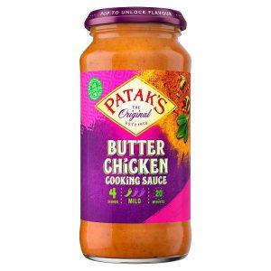 Σάλτσα Μαγειρικής Pataks Butter Chicken Cooking Sauce Mild 450g