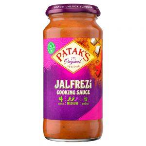 Σάλτσα Μαγειρικής Pataks Jalfrezi Cooking Sauce Medium 450g