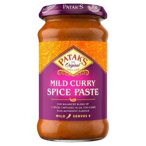 Πάστα Μπαχαρικών Pataks Mild Curry Spice Paste 283g