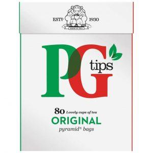 Τσάι Μαύρο PG Tips Black Tea Original 80 Φακελάκια