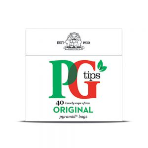 Τσάι Μαύρο PG Tips Black Tea Original 40 Φακελάκια