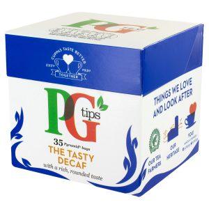 Μαύρο Τσάι Χωρίς Καφεΐνη PG Tips The Tasty Decaf 35 Φακελάκια
