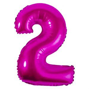 Μπαλόνι Ροζ Νούμερο 2
