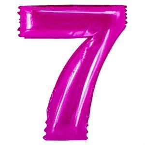 Μπαλόνι Ροζ Νούμερο 7