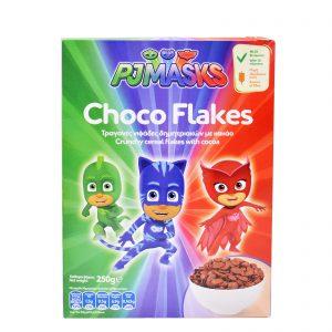 Παιδικά Δημητριακά PJ Masks Choco Flakes 250g