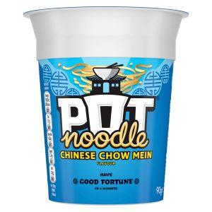 Νούντλς Στιγμής Pot Noodle Chinese Chow Mein 90g