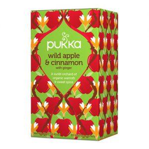 Pukka Wild Apple and Cinnamon 40g
