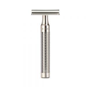 Ξυριστική Μηχανή Muhle Rocca safety razor silver matt
