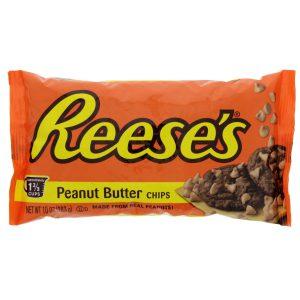 Σταγόνες Φυστικοβούτυρου Reeses Peanut Butter Chips 283g Gluten-Free