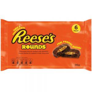 Μπισκότα Φυστικοβούτυρου Reeses Rounds Real Peanut Butter 96g