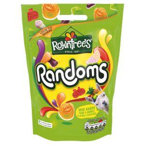 Μαλακες Καραμέλες Rowntrees Randoms Pouch Bag 150g