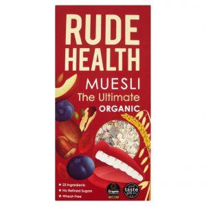 Δημητριακά Μούσλι Βιολογικά Rude Health The Ultimate Organic Muesli 500g