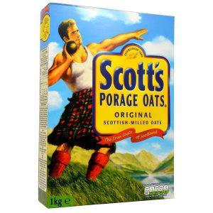 Νιφάδες Βρώμης Scotts Porage Oats 1kg