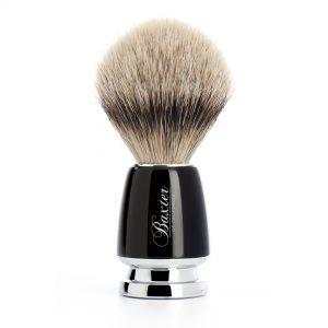 Πινέλο Ξυρίσματος Από Τρίχα Ασβού Baxter of California Shaving Brush With Silvertip Badger