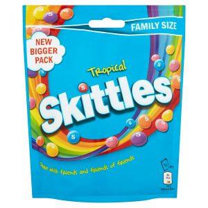 Καραμελάκια Skittles Tropical Flavour 196g