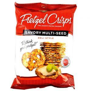 Κρακεράκια Snyders Pretzel Crisps Savoury Multi Seed 85g