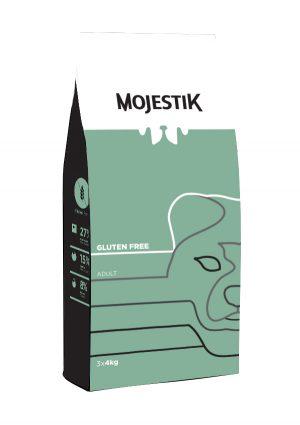 Σκυλοτροφή Χωρίς Γλουτένη για Ενήλικα Σκυλιά Mojestik Super Premium Gluten Free Adult Dog 12kg
