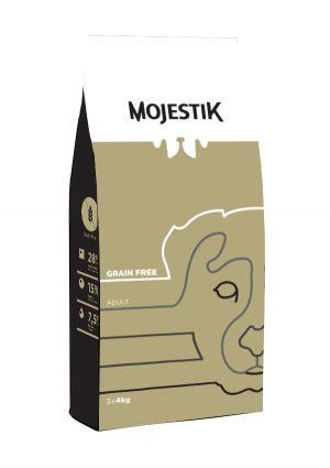 Σκυλοτροφή Χωρίς Γλουτένη για Ενήλικα Σκυλιά Mojestik Super Premium Grain Free Adult Dog 12kg