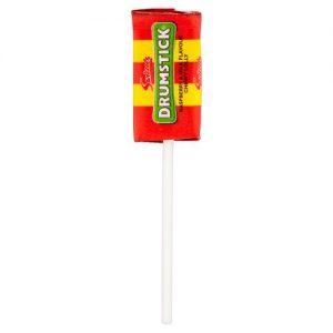 Γλειφιτζούρι – Καραμελότσιχλα Swizzels Drumstick Raspberry and Milk Flavour Chewy Lolly 12g