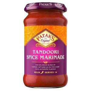Σάλτσα Μαρινάδας Pataks Tandoori Spice Marinade Mild 312g