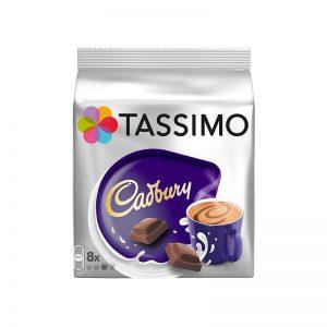 Ρόφημα Σοκολάτας Tassimo Cadbury σε Κάψουλες 8τμχ