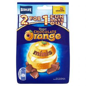 Σοκολατάκια Terrys Orange Chocolate Minis 125g