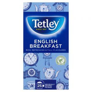 Τσάι Tetley English Breakfast 25 Tea Bags