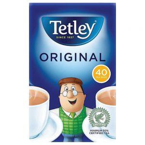 Τσάι Μαύρο Tetley Original 40 Tea Bags