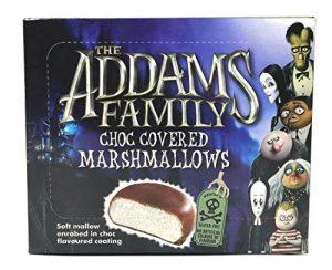 Ζαχαρωτά με Επικάλυψη Σοκολάτας Χάλοουιν The Addams Family Choc Covered Marshmallows Halloween 130g