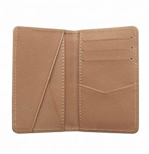 The Project Garments Pocket Organizer in Beige Alligator Leather