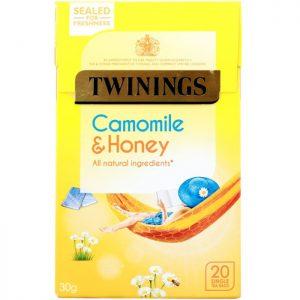 Χαμομήλι με Μέλι Twinings Camomile and Honey 20 Tea Bags