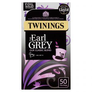 Τσάι Μαύρο Twinings Earl Grey Our Classic Blend 50 Tea Bags
