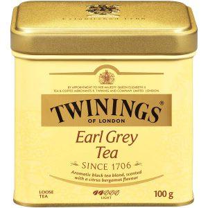 Τσάι Μαύρο Twinings Earl Grey Loose Tea Light 100g