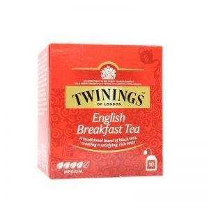 Τσάι Μαύρο Twinings English Breakfast Medium 10 Tea Bags 10 Φακελάκια