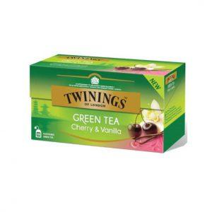 Τσάι Πράσινο Twinings Green Tea Cherry and Vanilla 25 Tea Bags