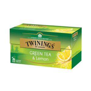 Τσάι Πράσινο Twinings Green Tea Lemon 25 Tea Bags
