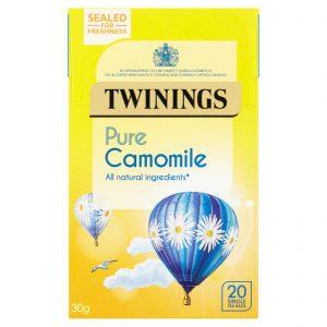 Χαμομήλι Twinings Pure Camomile 20 Tea Bags
