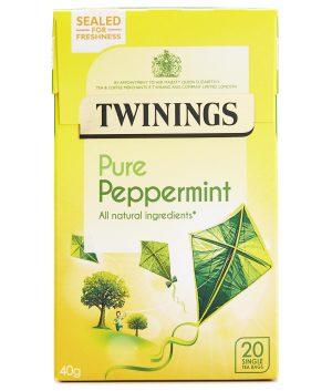 Αφέψημα Μέντα Twinings Pure Peppermint 20 Tea Bags