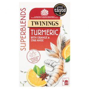 Αφέψημα Βοτάνων Twinings Superblends Turmeric 20 Tea Bags