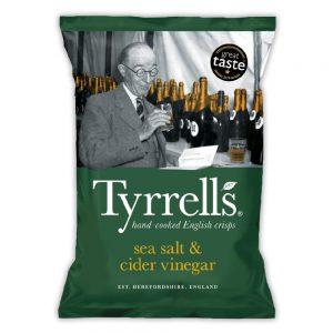 Πατατάκια Tyrrells Sea Salt and Cider Vinegar 150g
